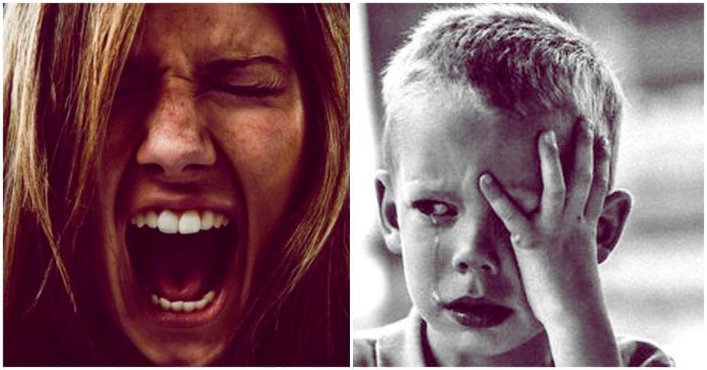 He decidido nunca más gritarle a mis hijos