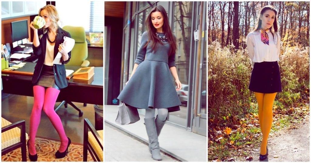 Cómo agregar medias de colores en tus outfits y verte muy elegante