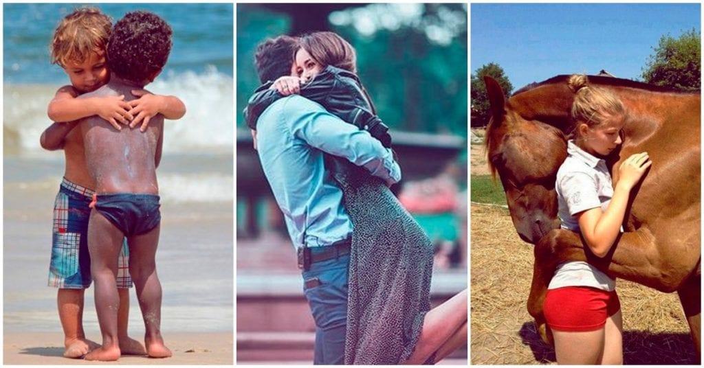Todo lo que mejora en tu vida cuando recibes un abrazo