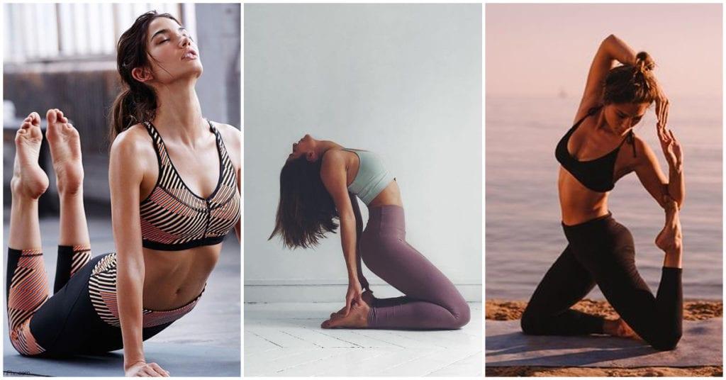 Posturas de yoga para estirar tu cuerpo antes de dormir ¡Bye insomnio!