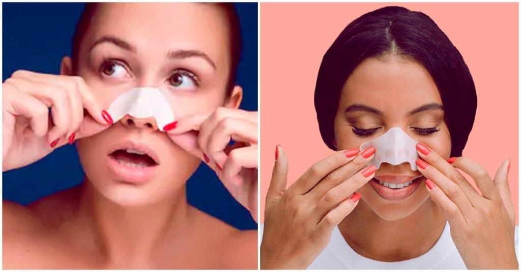 ¿De verdad funcionan las tiras para quitar puntos negros de la nariz?