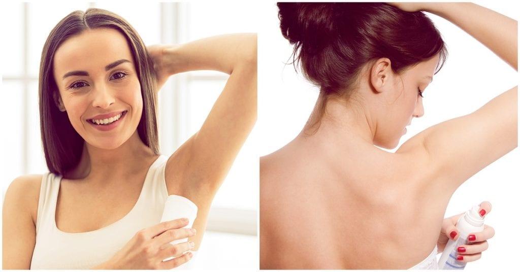 ¿Usas desodorante? Ten cuidado, le hace daño a tu piel