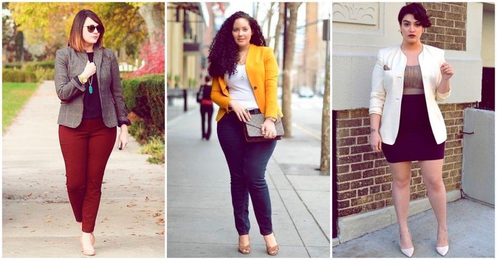 Blazers para chicas curvy: te digo cómo usarlos y ser una diosa con estilo