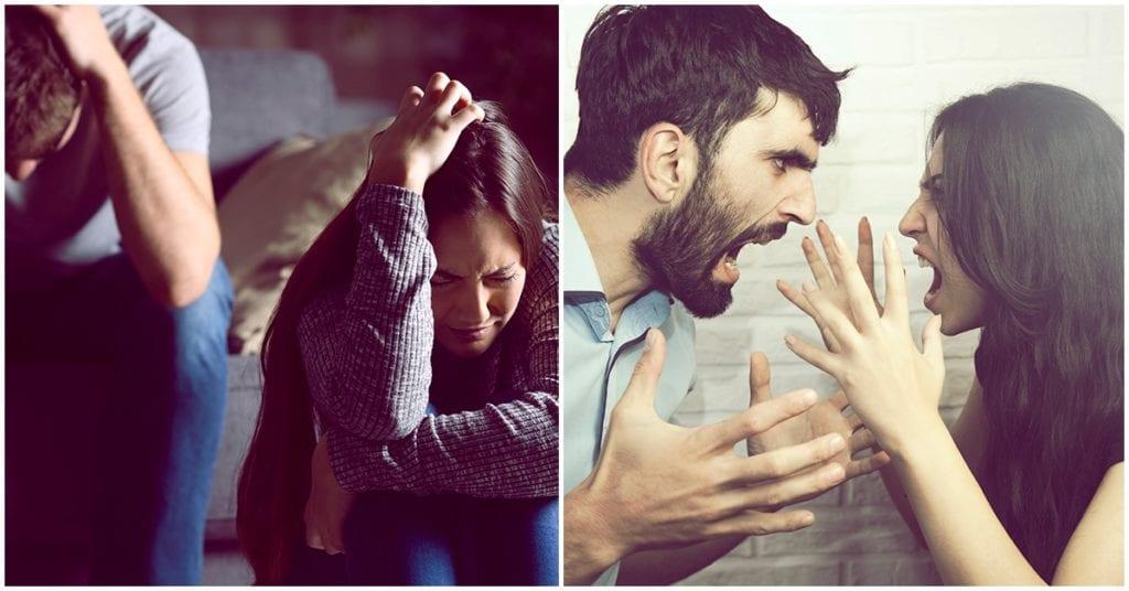 Peleas en la relación: cuidado, podría ser el fin