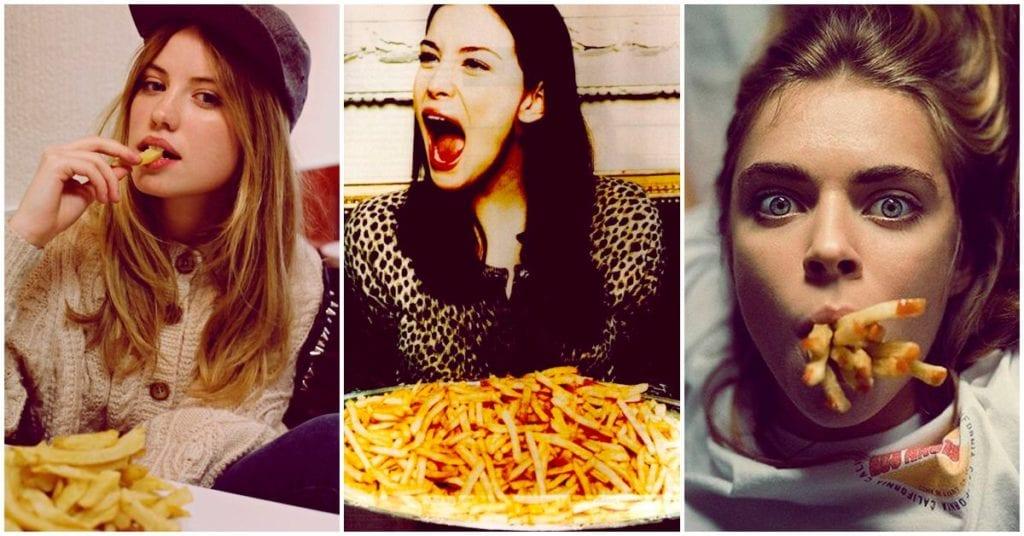 La solución para que tu cabello crezca es: ¡papas fritas!