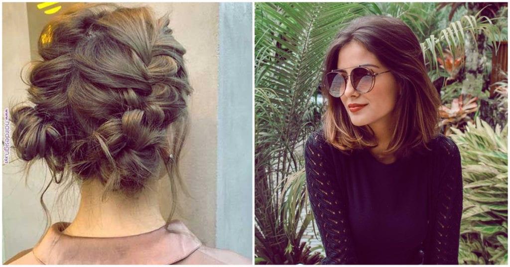 Peinados perfectos para las chicas con melena cortita
