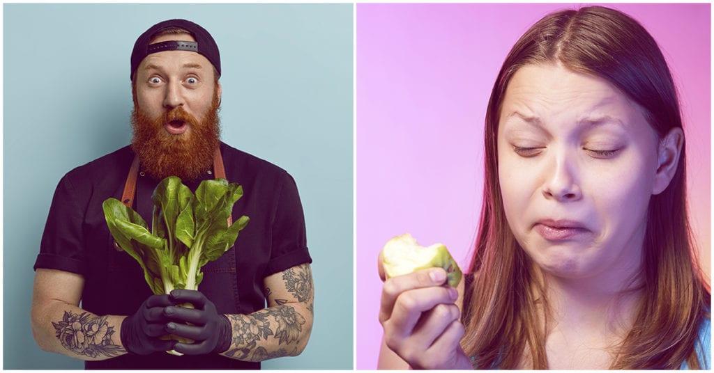 Por qué ser vegetariano es un motivo de ruptura para mi