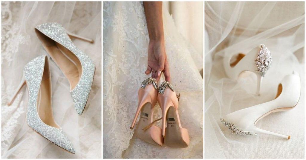 Qué zapatos puedes usar el día de tu boda