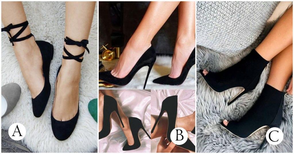 Zapatos negros que amamos ¡porque combinan con todo lo que nos ponemos!