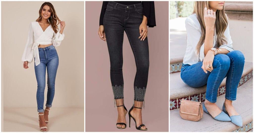 Qué zapatos le van bien a los cropped jeans