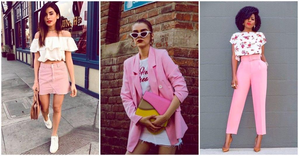 Outfits rosas que puedes usar en cualquier momento