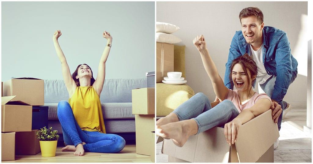 Realidades que suceden cuando te mudas con tu pareja