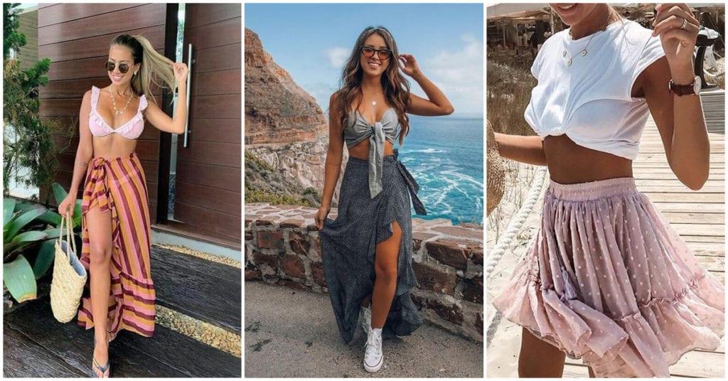 Faldas para combinar con tu traje de baño