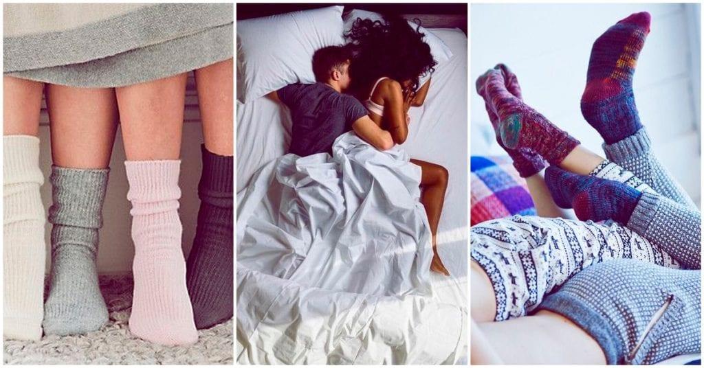 ¿Usas calcetines durante el sexo? Eso mejorará tu experiencia, dicen…