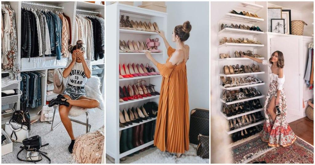 Diferencias en el closet : soltera vs novia
