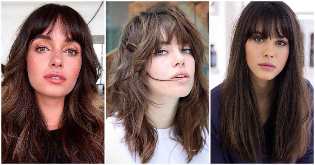 4 Tipos de flecos para verte diferente si no quieres cortarte el cabello