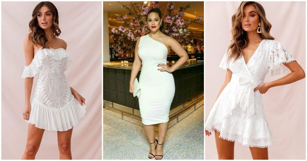 Razones por las que deberías tener un vestido blanco en tu armario