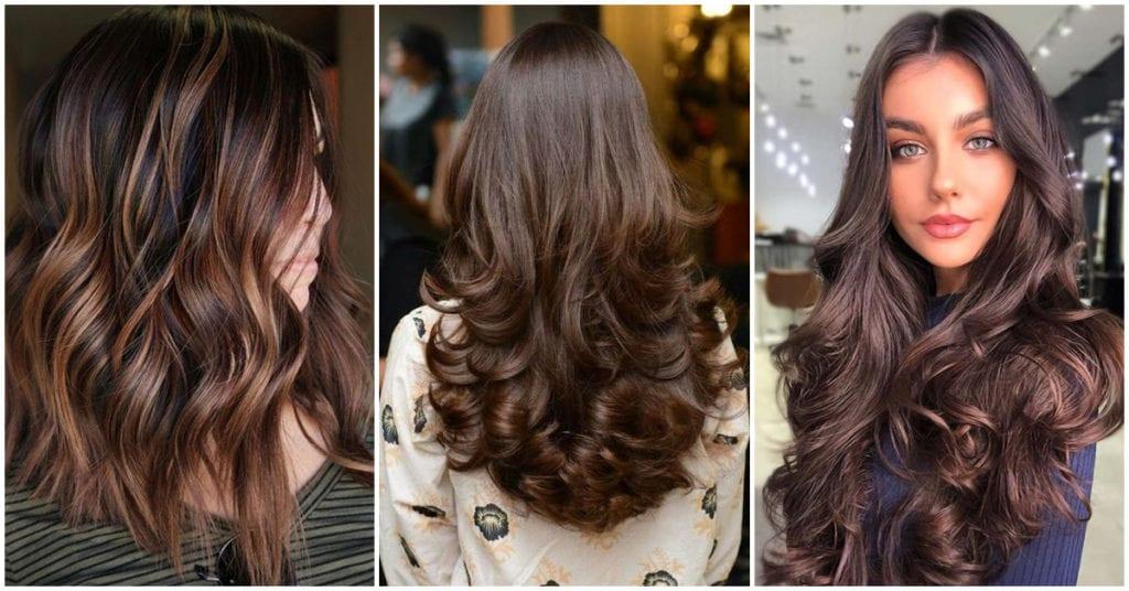 Tonos de cabello chocolate para cambiarte el look a la de ya