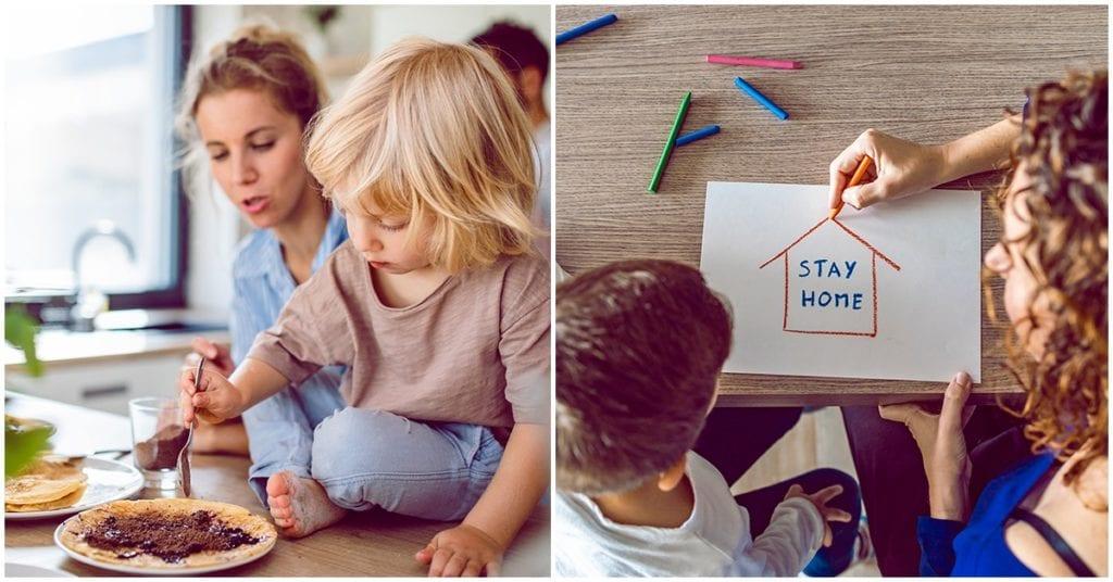 Actividades que puedes hacer con tus niños en la comodidad de tu casa