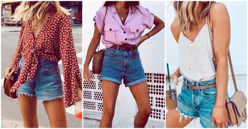 Los mejores outfits con tu short de mezclilla