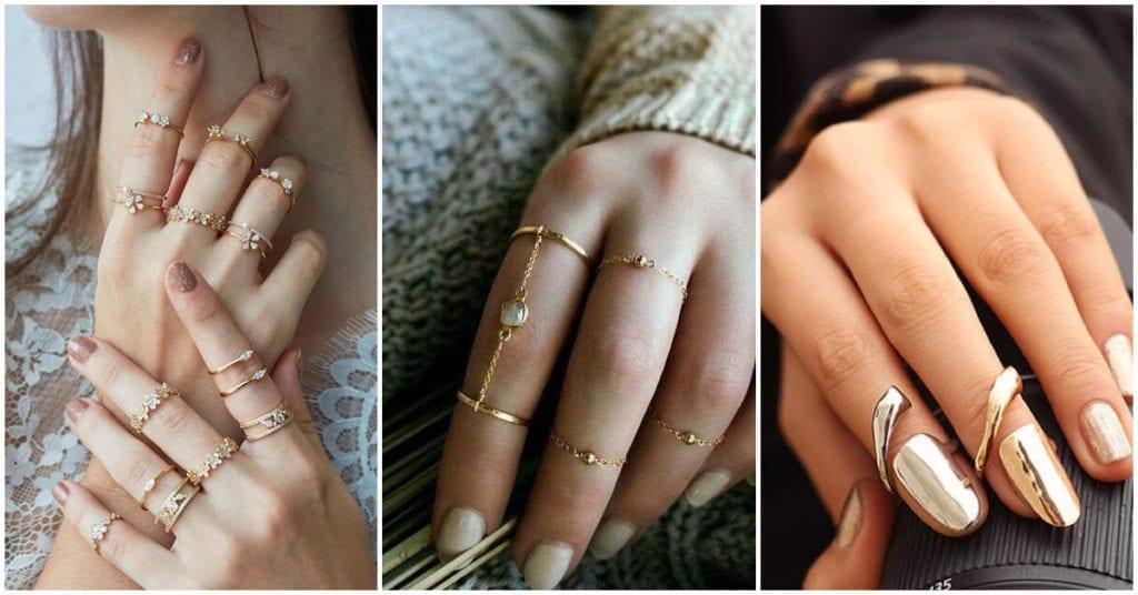 Anillos para las chicas que aman los detalles románticos
