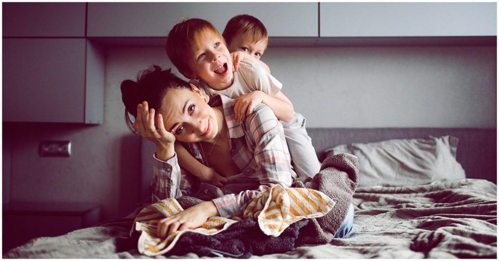 A veces resulta sofocante ser mamá y no tiene nada de malo