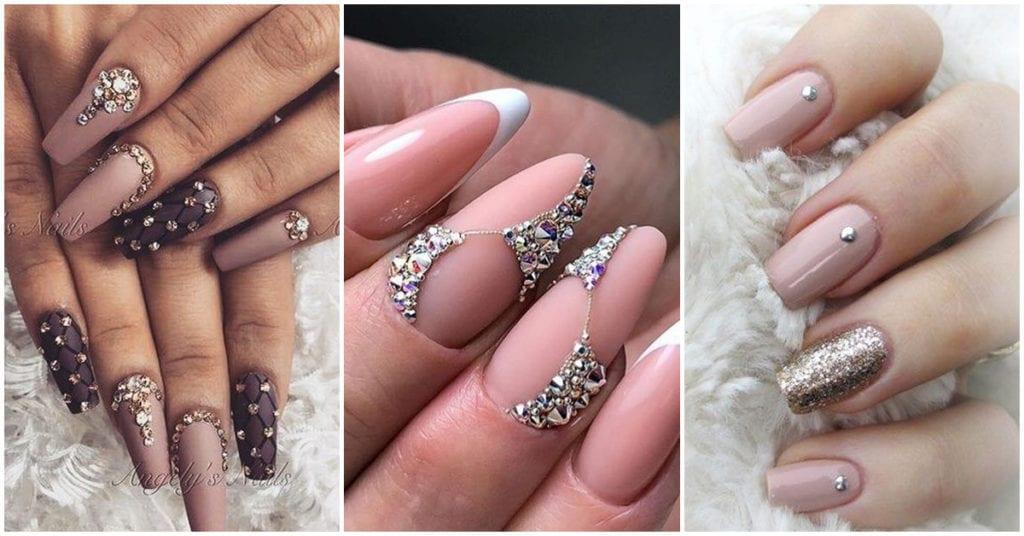 Cómo decorar tus uñas con cristales para que luzcan elegantes