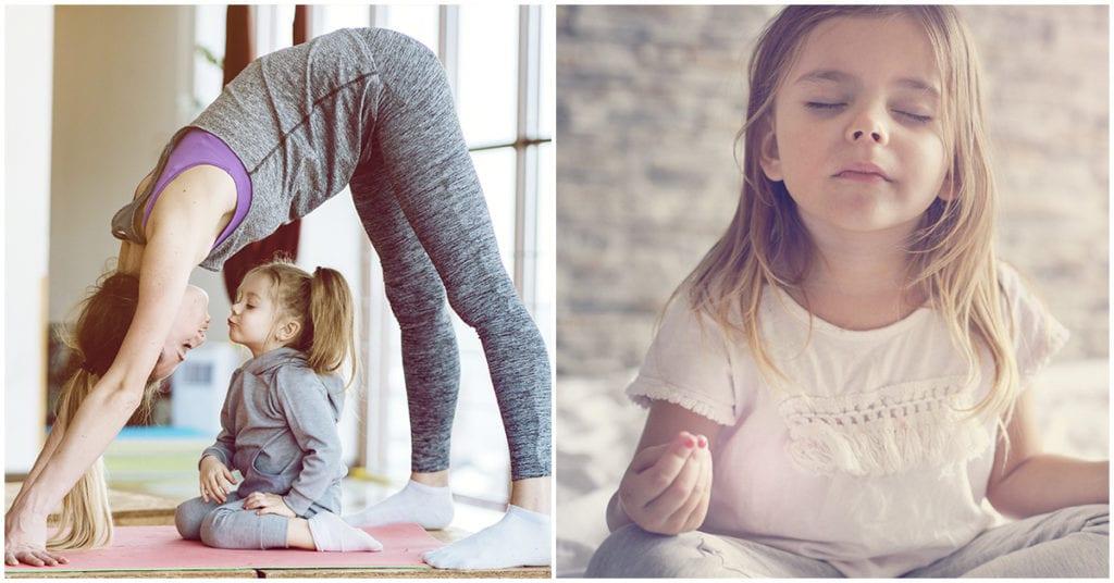 Yoga para niños: Cómo enseñarles en casa