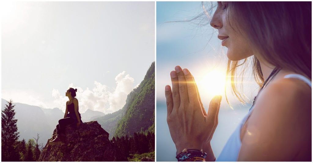 Meditar te puede ayudar con la ansiedad de estar encerrada