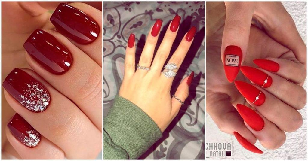 Nuestras manicuras favoritas de color rojo