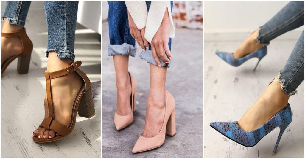 Zapatos ideales para ti si eres chica petite