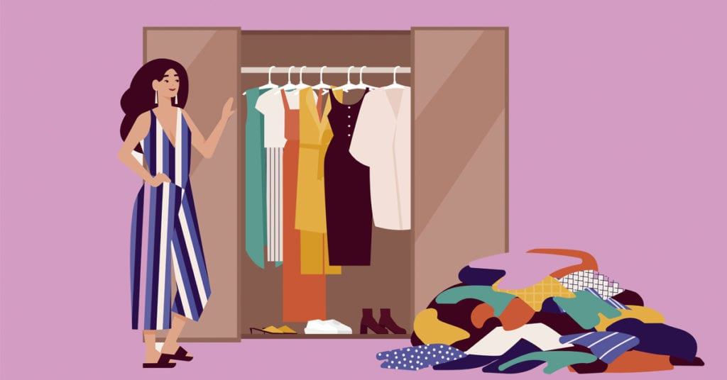 Ordena tu closet en solo 6 pasos