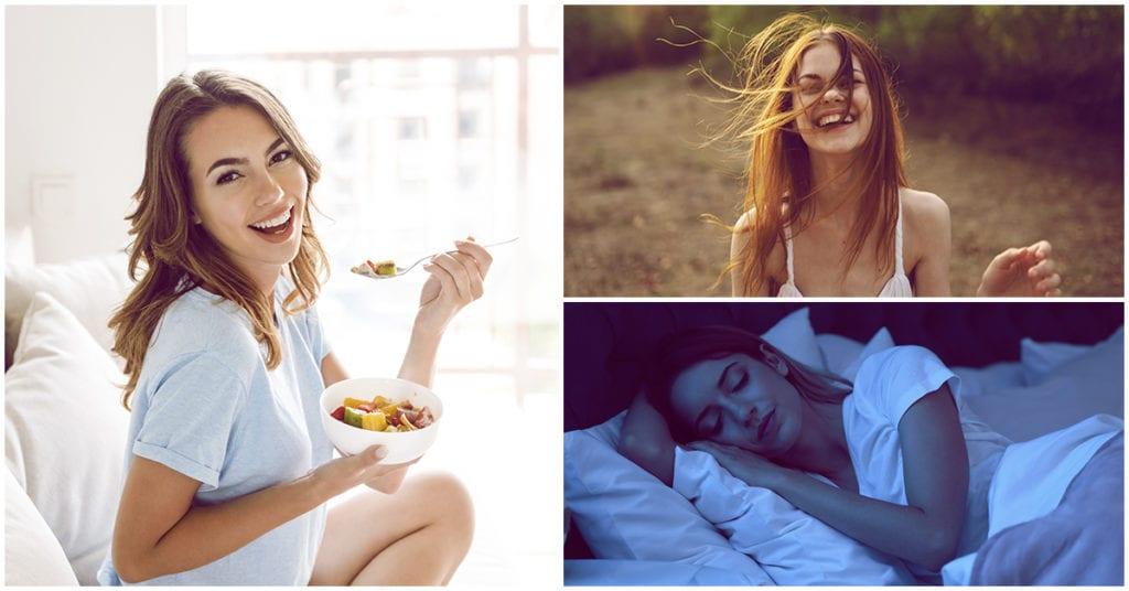 Estos son los hábitos de una mujer sana ¿Lo eres?