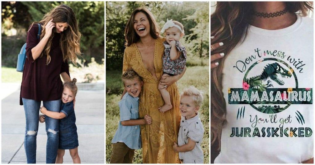 Outfits para las mamás más fashion