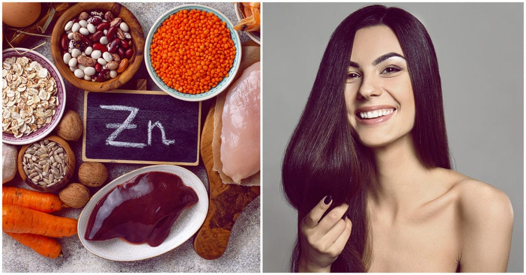 Consumir zinc le hace bien a tu cabello