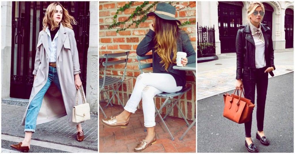 Cómo usar mocasines sin perder el estilo