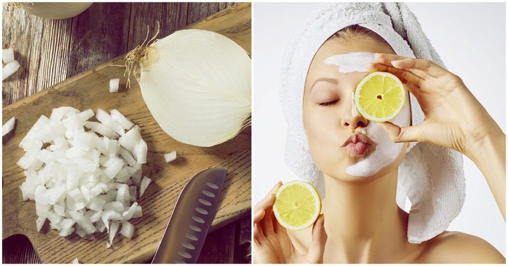 Mascarilla de cebolla para mantener tu piel radiante
