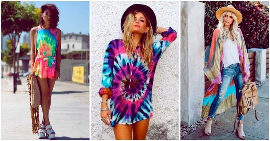 Cómo usar la tendencia Tie Dye a tu favor este verano