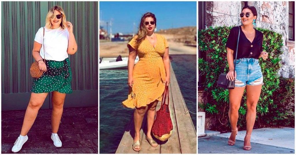 Outfits para chicas curvy en primavera