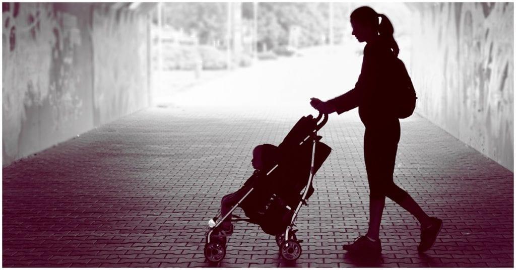 Lo más complicado en cuarentena: ser madre soltera