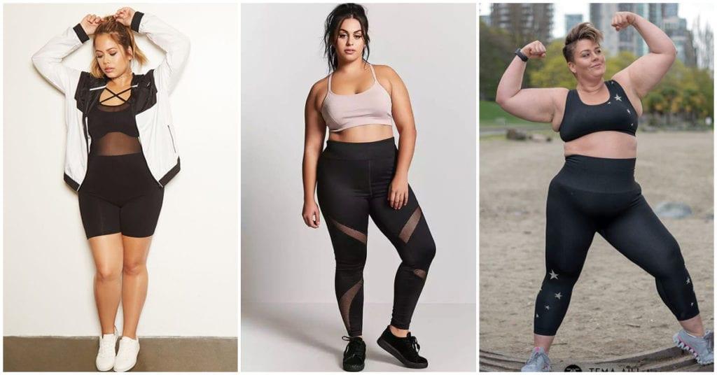 Curvy: Las mejores prendas para hacer ejercicio en la casa