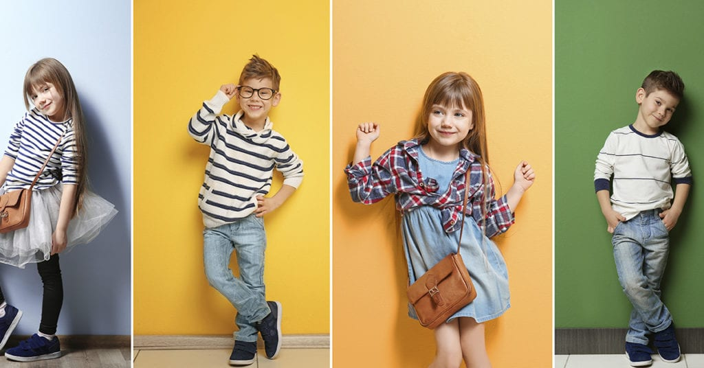 Cómo enseñarle a tus hijos a combinar su ropa