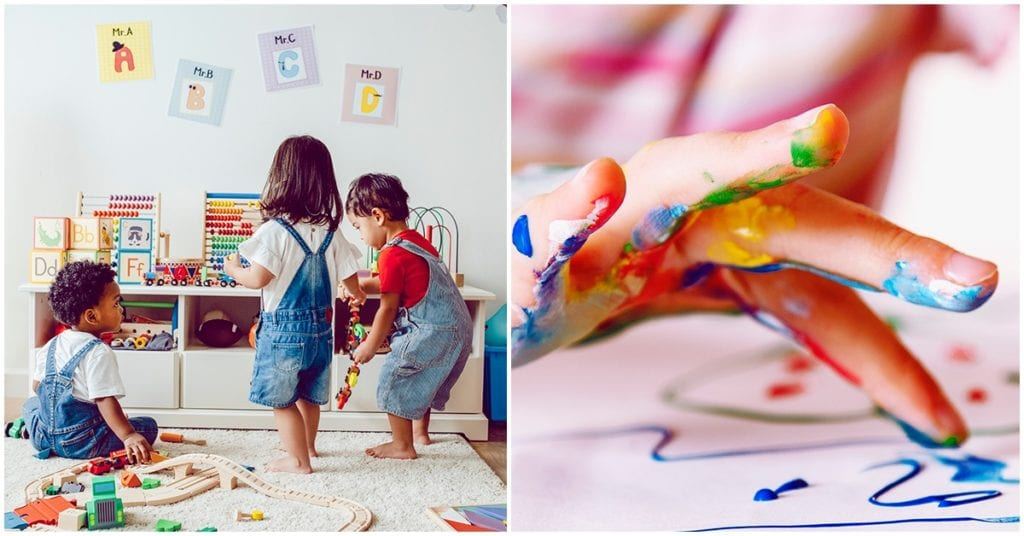 Crea un centro de atracciones en casa para festejar a los niños