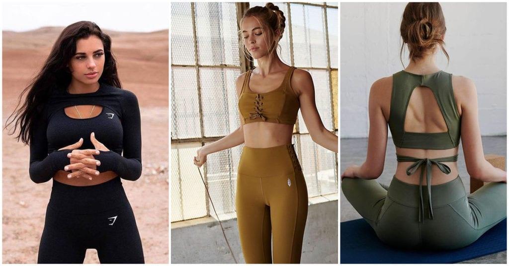 El outfit ideal para hacer yoga ¡me encantan!