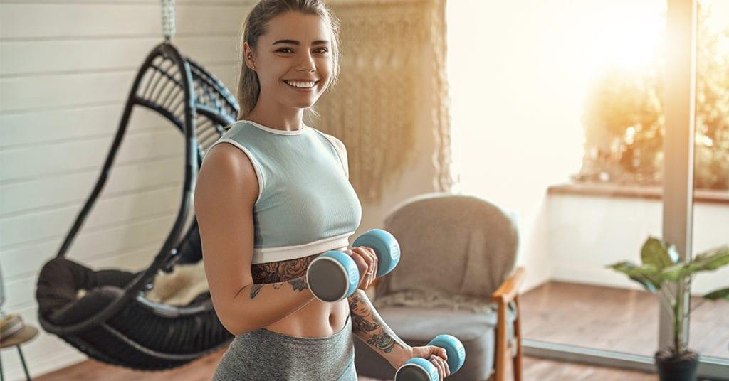 Cómo quemar 100 calorías con solo 4 ejercicios
