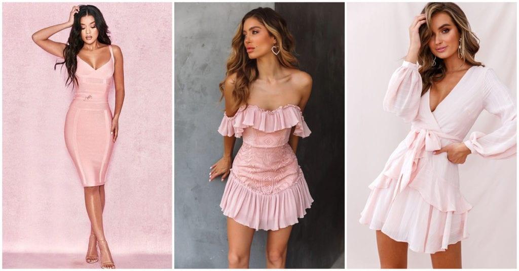 Todas deberíamos tener al menos un vestido rosa en nuestro armario