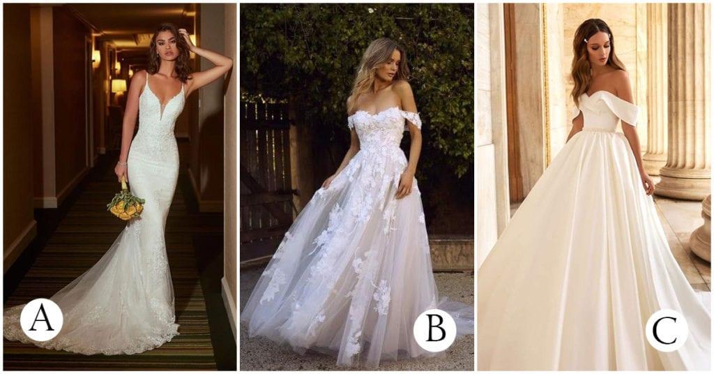 7 Reglas que debes seguir si o si al escoger tu vestido de novia