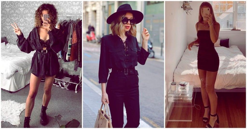 Cosas que sólo entendemos las que vestimos diario prendas negras