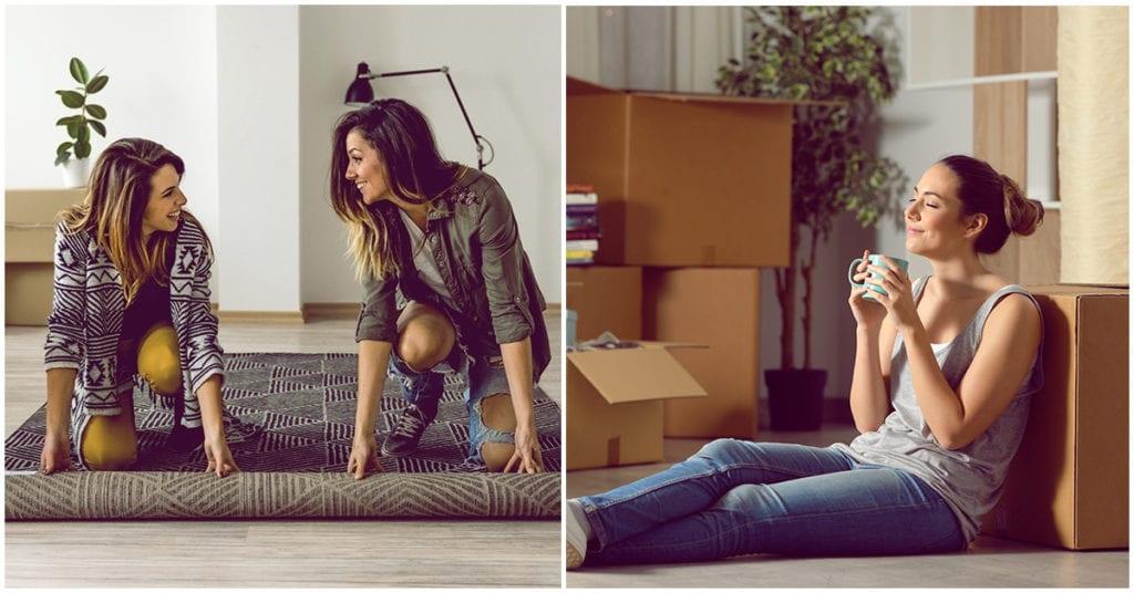 Cómo meter los nuevos muebles en casa sin morir en el intento