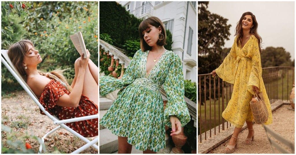 Vestidos ideales para lucir, en el jardín de tu casa (por lo mientras)